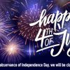 Have a GREAT 4th of July!